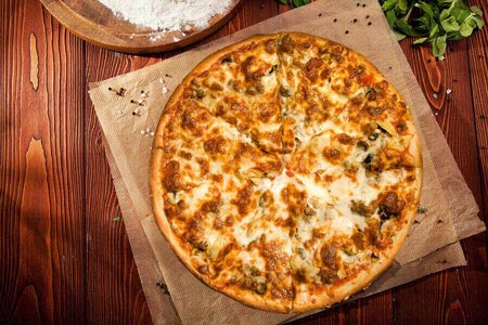 Serres Delivery Mamma`s Pizza Meat pleasure