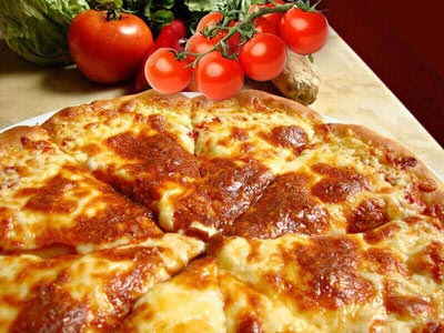 Serres Delivery Mamma`s Pizza Μαργαρίτα