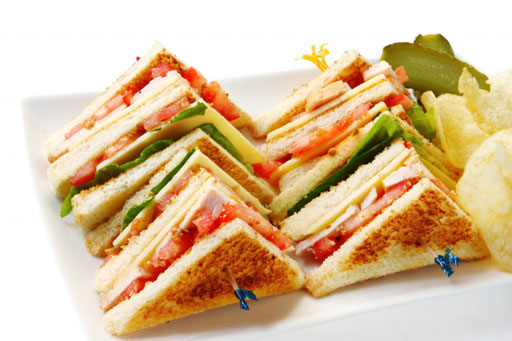 Serres Delivery Mamma`s Pizza Club sandwich τυριών