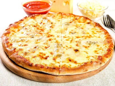 Serres Delivery Mamma`s Pizza 4 τυριά